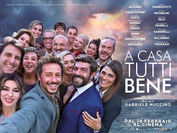 """""""A Casa Tutti Bene"""" il nuovo  film di Gabriele Muccino"""